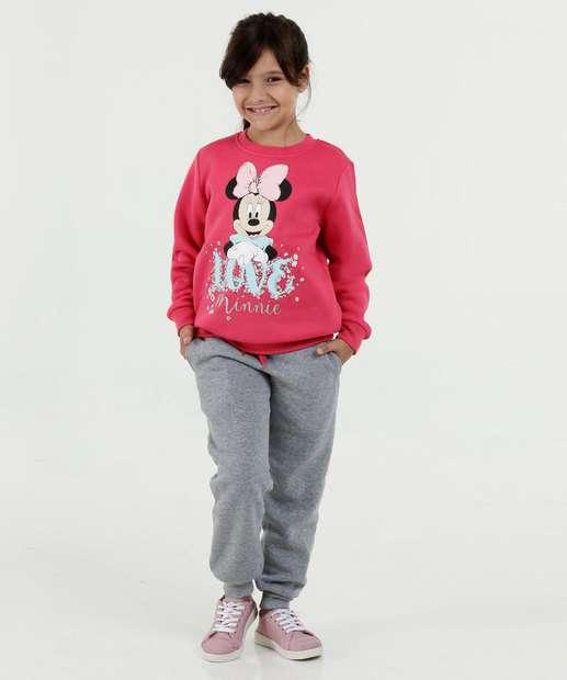 Image_Conjunto Infantil Estampa Minnie Moletom Disney
