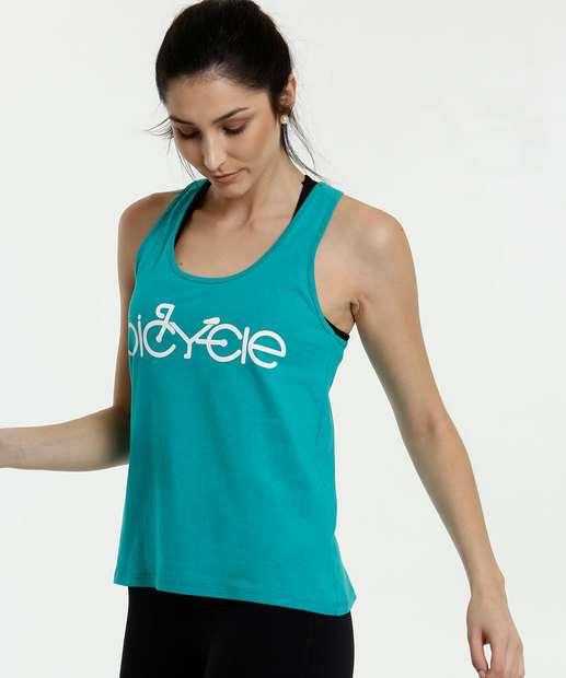 Image_Regata Feminina Fitness Estampa Bicicleta Marisa