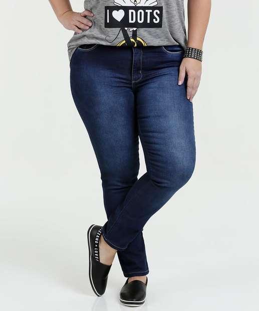 Image_Calça Feminina Jeans Skinny Stretch Plus Size Razon