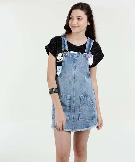 Image_Salopete Juvenil Jeans Marisa