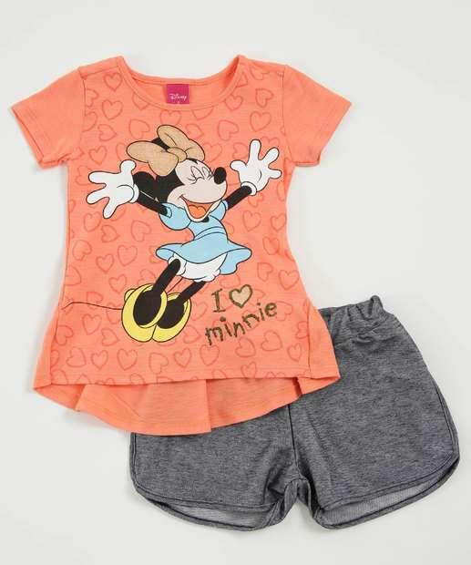 Image_Conjunto Infantil Flamê Estampa Minnie Disney