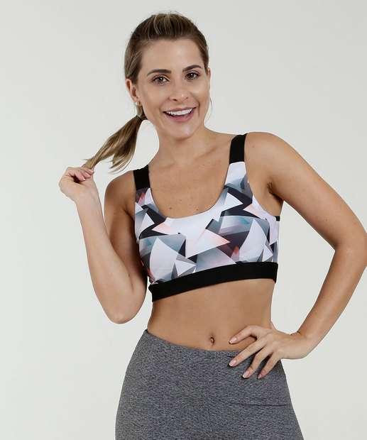 Image_Top Feminino Fitness Estampado Marisa