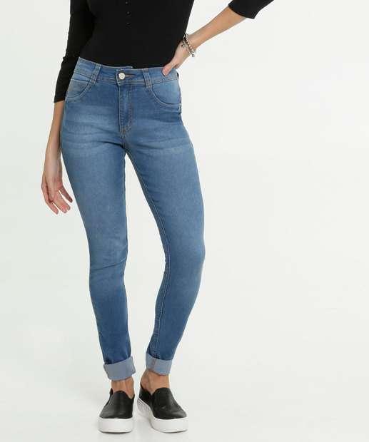 Image_Calça Feminina Jeans Barra Dobrada Skinny Biotipo