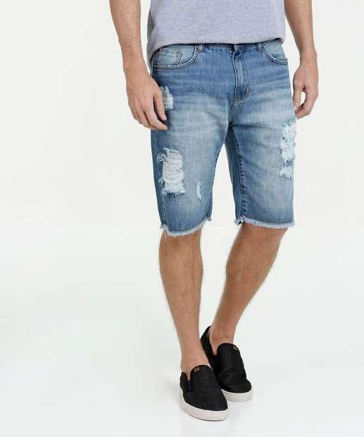 Image_Bermuda Masculina Jeans Destroyed Marisa