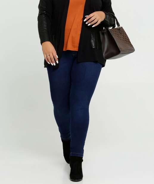 Image_Calça Jeans Skinny Feminina Plus Size