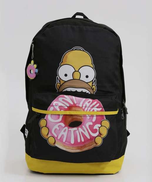 Image_Mochila Feminina Estampa Homer Simpsons