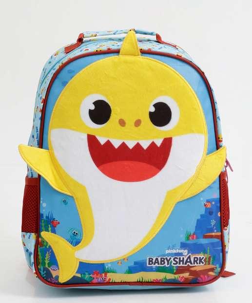 Image_Mochila Infantil Escolar Unissex Estampa Baby Shark Xeryus