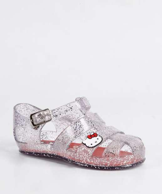 Image_Sandália Infantil Glitter Hello Kitty