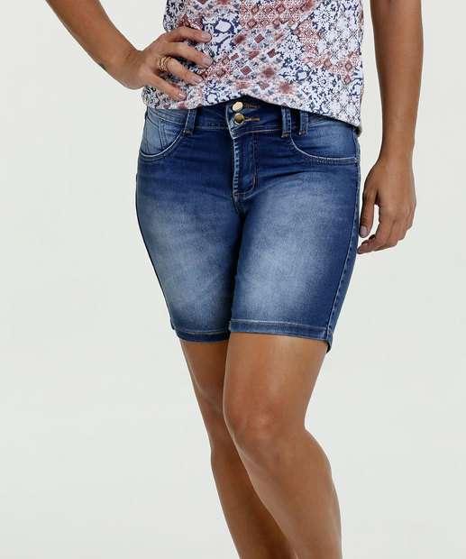 Image_Bermuda Feminina Jeans Cintura Média Sawary
