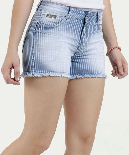 Image_Short Feminino Jeans Listrado Biotipo