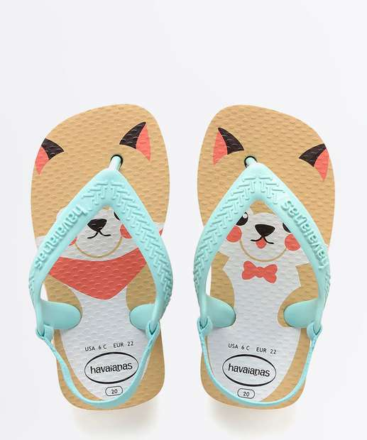 Image_Chinelo Havaianas Infantil Estampada Baby New Pets