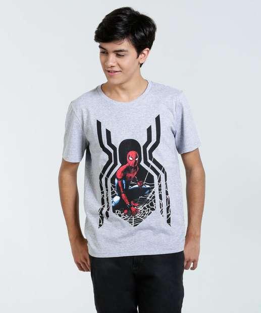 Image_Camiseta Juvenil Homem Aranha Marvel Marisa