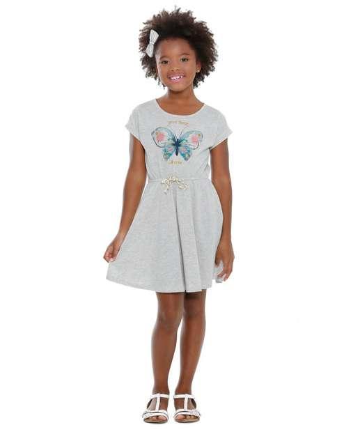 Image_Vestido Infantil Estampa Borboleta Marisa