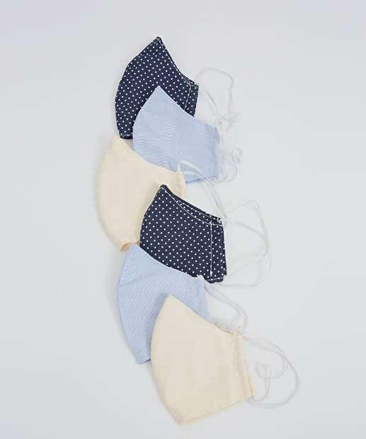 Image_Kit 6 Máscaras Proteção Unissex Biotipo