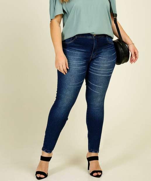 Image_Calça Plus Size Feminina Jeans Skinny Marisa