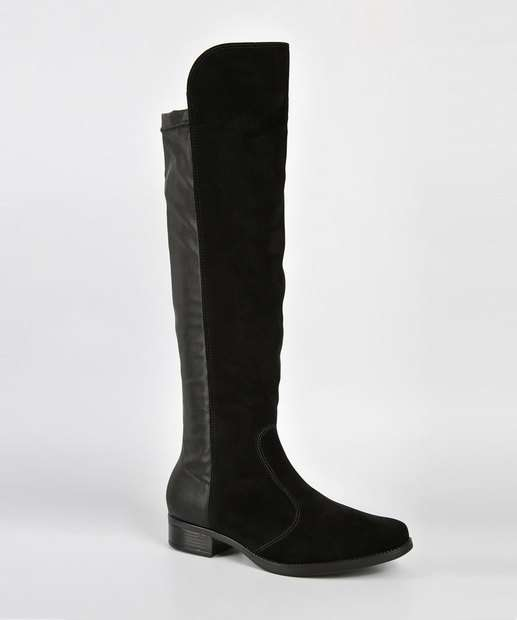 Image_Bota Feminina Over The Knee Nobuck Vizzano