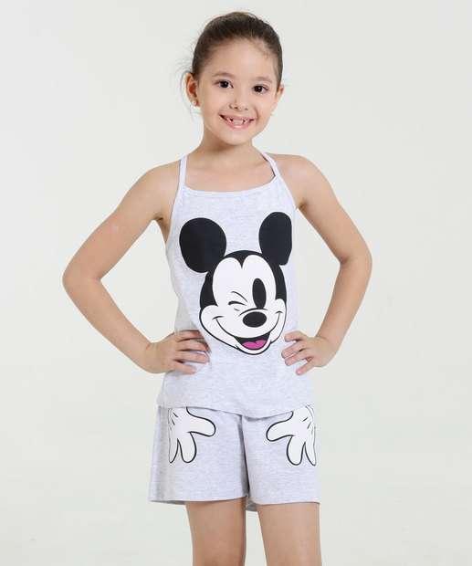 Image_Pijama Infantil Short Doll  Mickey Disney