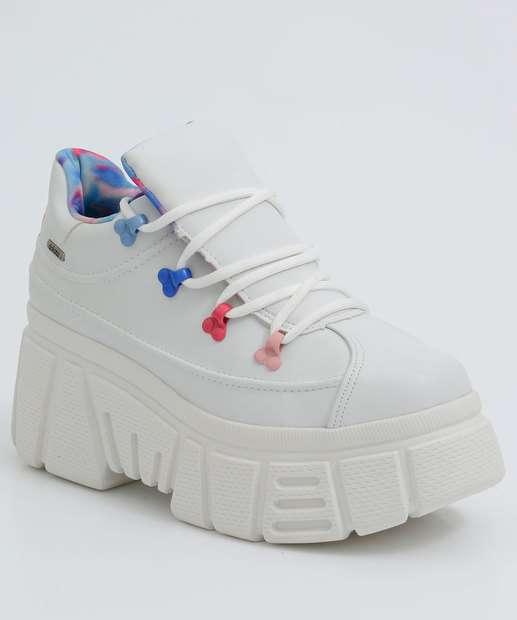 Image_Tênis Feminino Chunky Sneaker Plataforma Tratorado Dakota