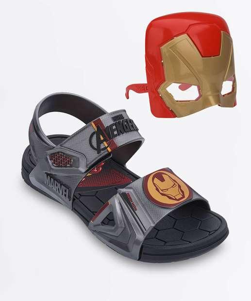 Image_Papete Infantil Marvel Hero Brinde Máscara Grendene Kids