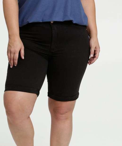 Image_Bermuda Feminina Sarja Barra Dobrada Plus Size
