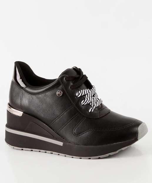 9e90e265b Tênis Feminino Sneaker Plataforma Via Marte