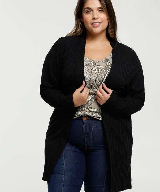 Image_Capa Feminina Canelada Alongada Plus Size Marisa