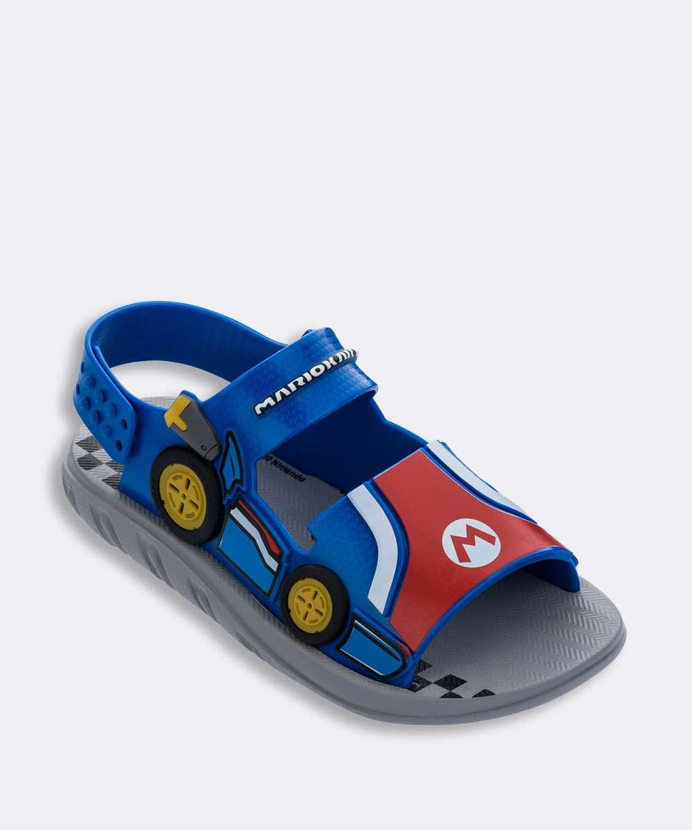 Papete Infantil Super Mario Kart Grendene Kids