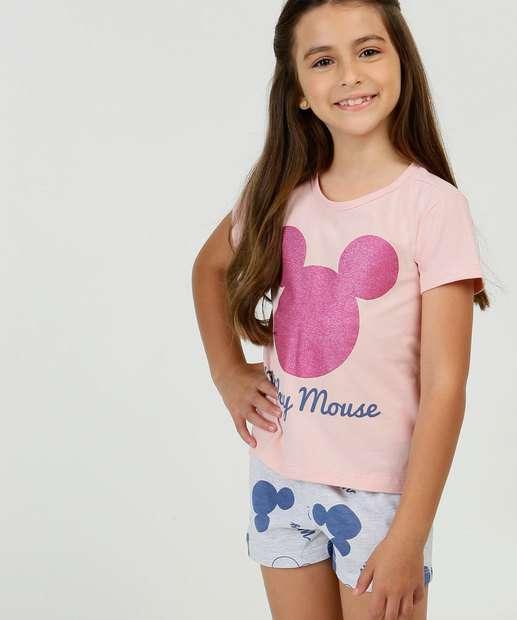 Image_Pijama Infantil Manga Curta Mickey Disney Tam 2 a 10