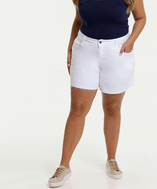 Image_Short Feminino Sarja Plus Size Bolsos Marisa