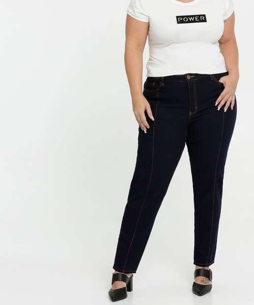 Image_Calça Jeans Skinny Feminina Plus Size Gups