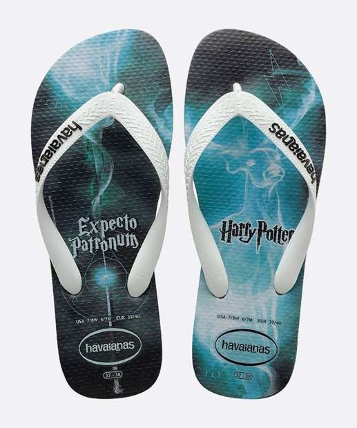 Image_Chinelo Havaianas Masculino Estampa Harry Potter