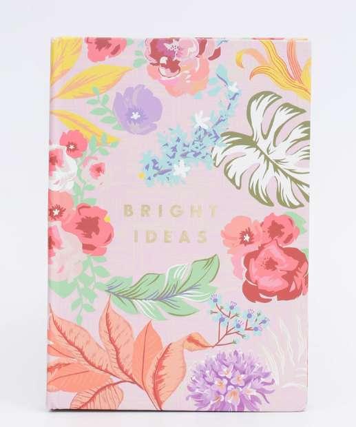 Image_Caderneta Anotações Estampa Floral