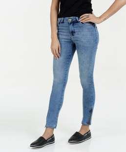 Calça Feminina Jeans Stretch Cigarrete Marisa