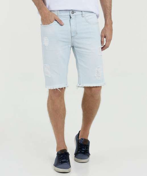 Image_Bermuda Masculina Slim Jeans Destroyed Mr