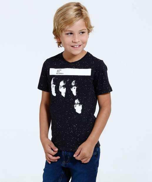 Image_Camiseta Infantil The Beatles Tal Pai Tal Filho
