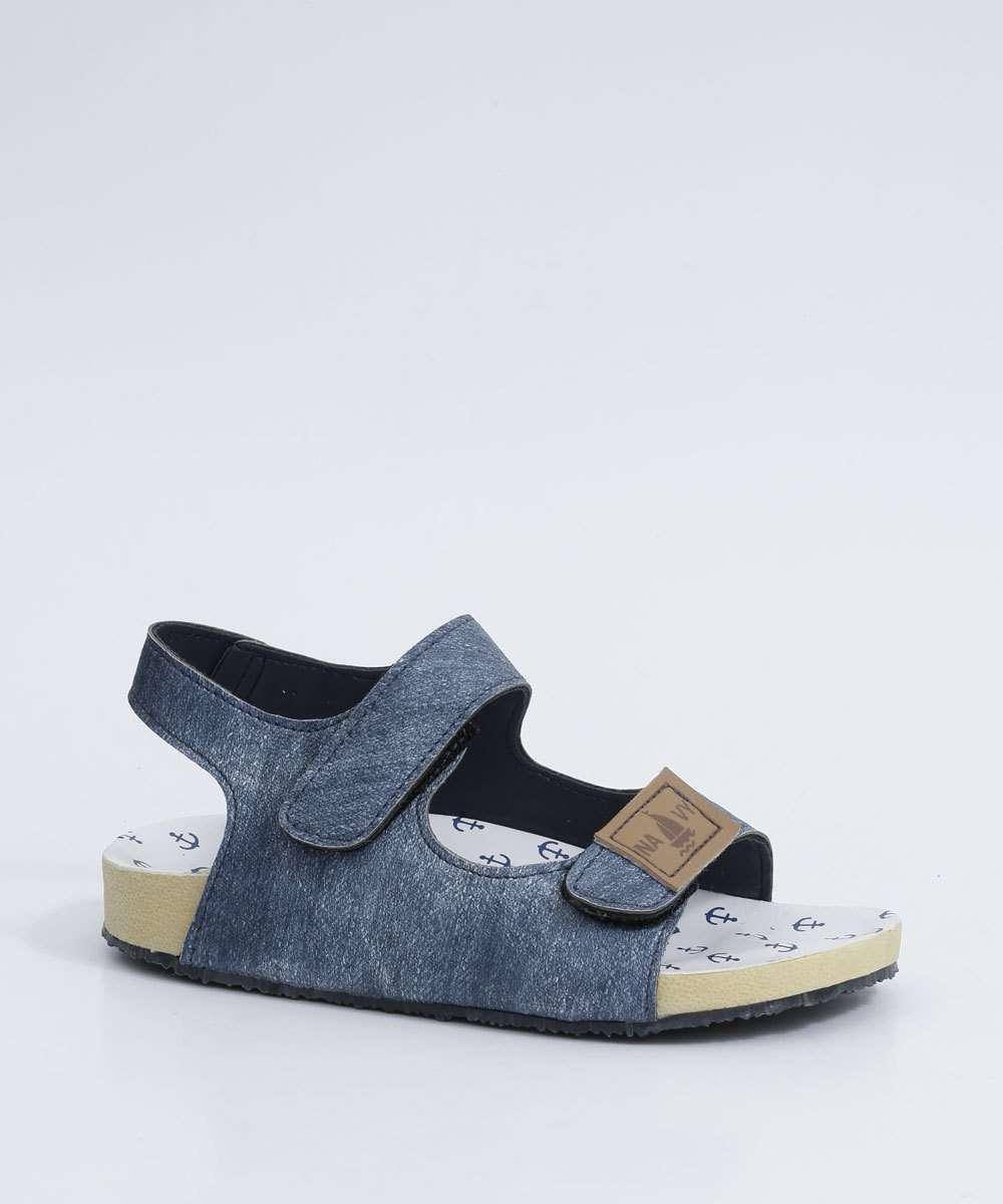 Sandália Infantil Jeans MR
