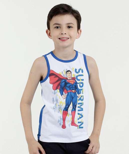 Image_Regata Infantil Estampa Super Homem Liga da Justica