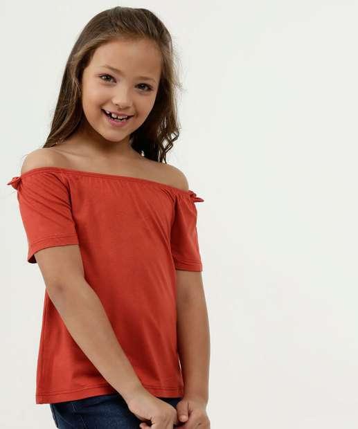 Image_Blusa Infantil Ombro a Ombro Manga Curta