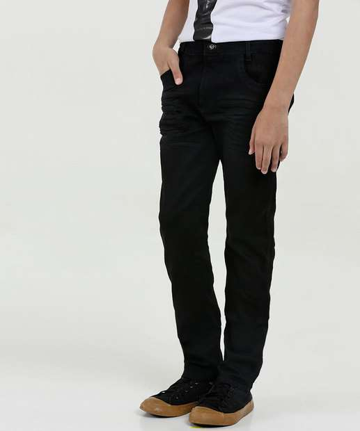 Image_Calça Juvenil Jeans Stretch