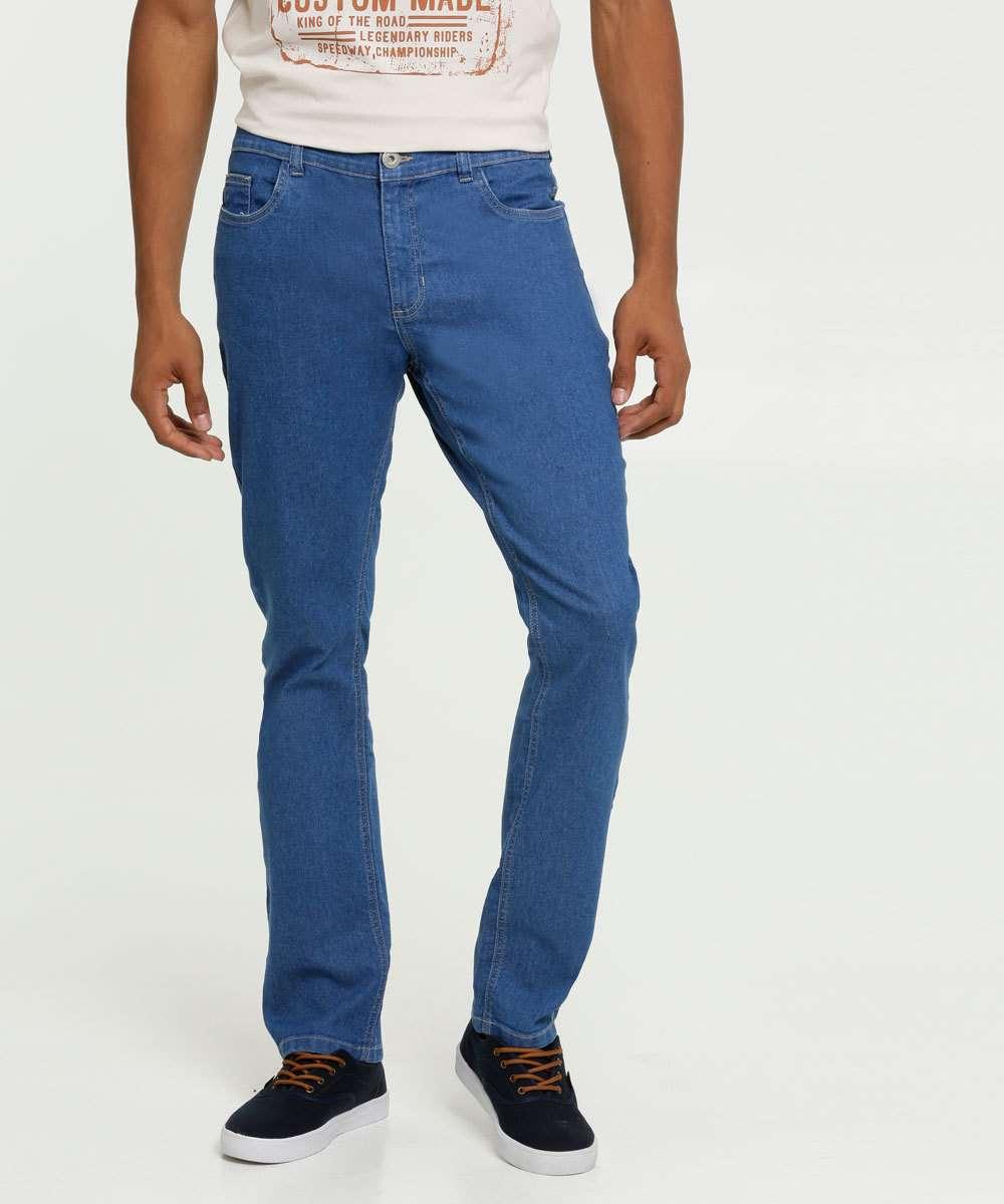 Calça Masculina Jeans Reta MR