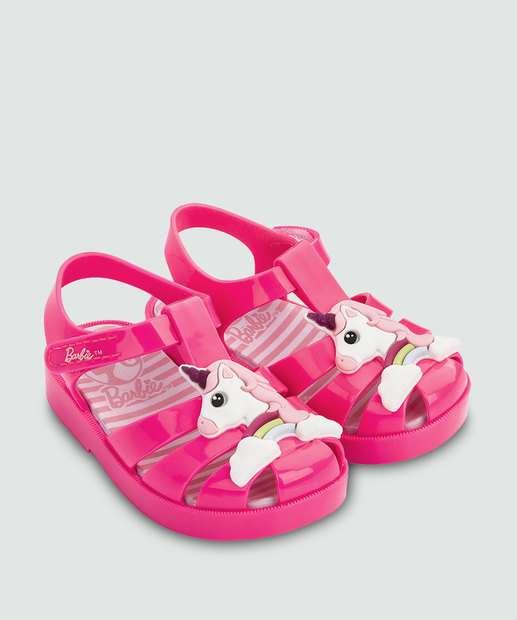 Image_Sandália Infantil Bebê Barbie Love Grendene Kids 21875