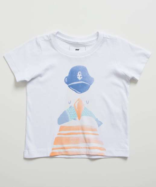 Image_Camiseta Infantil Manga Curta Estampa MR Tam 1 a 4