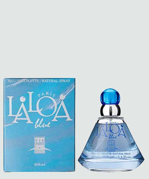 Image_Perfume Feminino Laloa Blue Femme Via Paris Parfums - Eau de Toilette 100ml