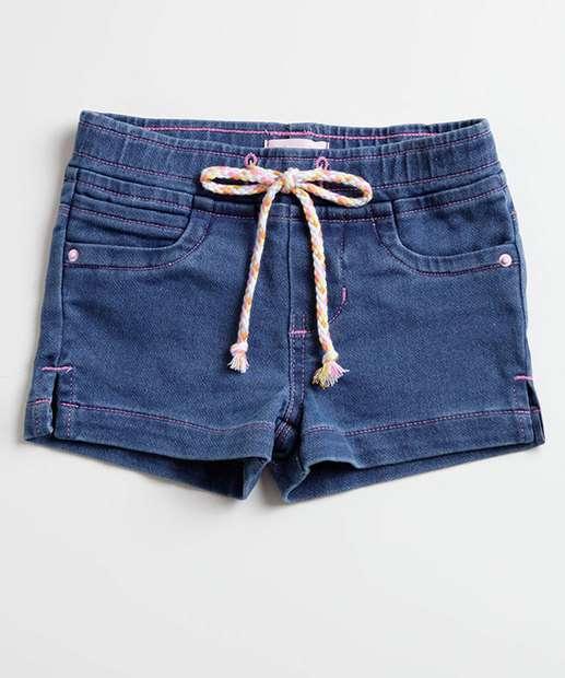 Image_Short Infantil Jeans Amarração Marisa