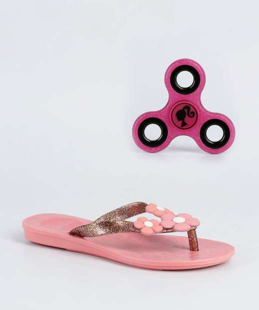 Image_Chinelo Infantil Barbie Brinde Grendene Kids 21809