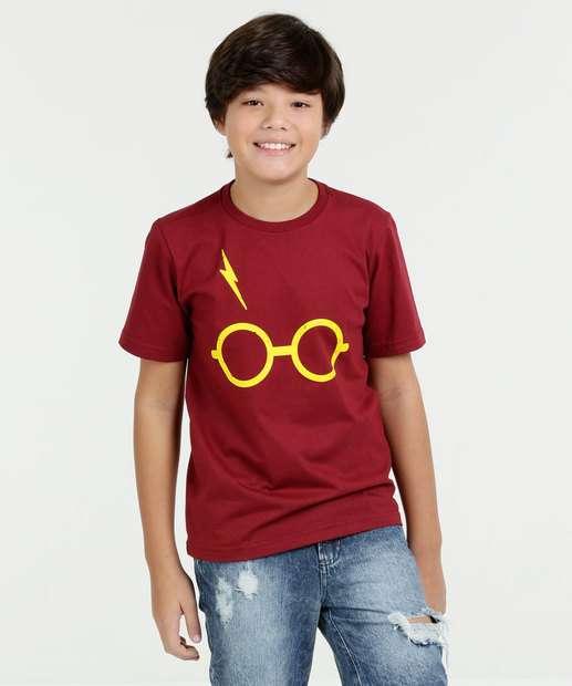 Image_Camiseta Juvenil Estampa Harry Potter Manga Curta Warner Bros