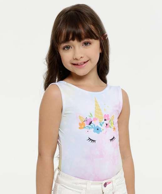 Image_Body Infantil Tie Dye Unicórnio Sem Manga Marisa