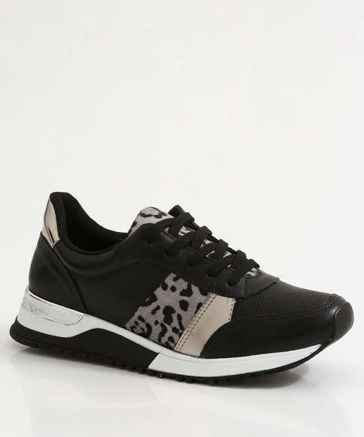 Image_Tênis Feminino Sneaker Plataforma Recorte Via Marte
