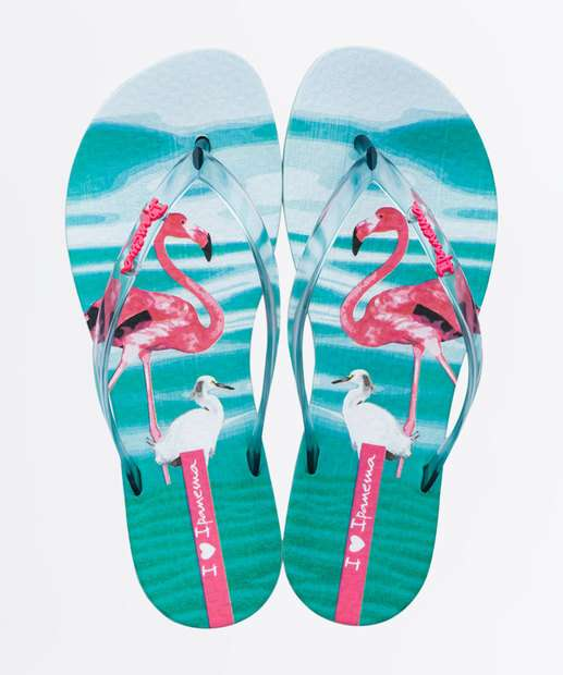 Image_Chinelo Ipanema Feminino Estampa Flamingo Wave Natural