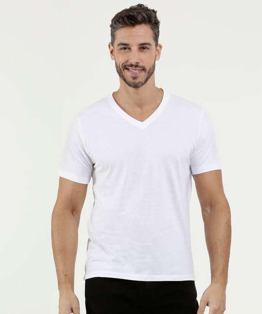 55e9095e31 Camiseta Masculina Básica Manga Curta